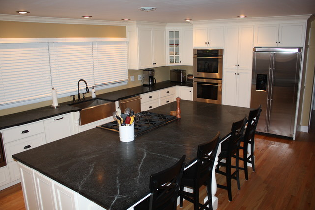 Saratoga Soapstone #countertops In This Gorgeous #kitchen, Installed By  Artisan Group Member: