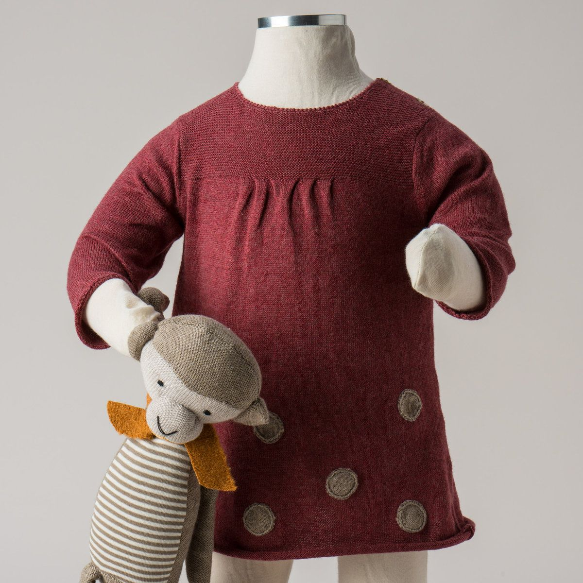 Luxurious Organic Infant And Baby Clothing Dresses Dress With