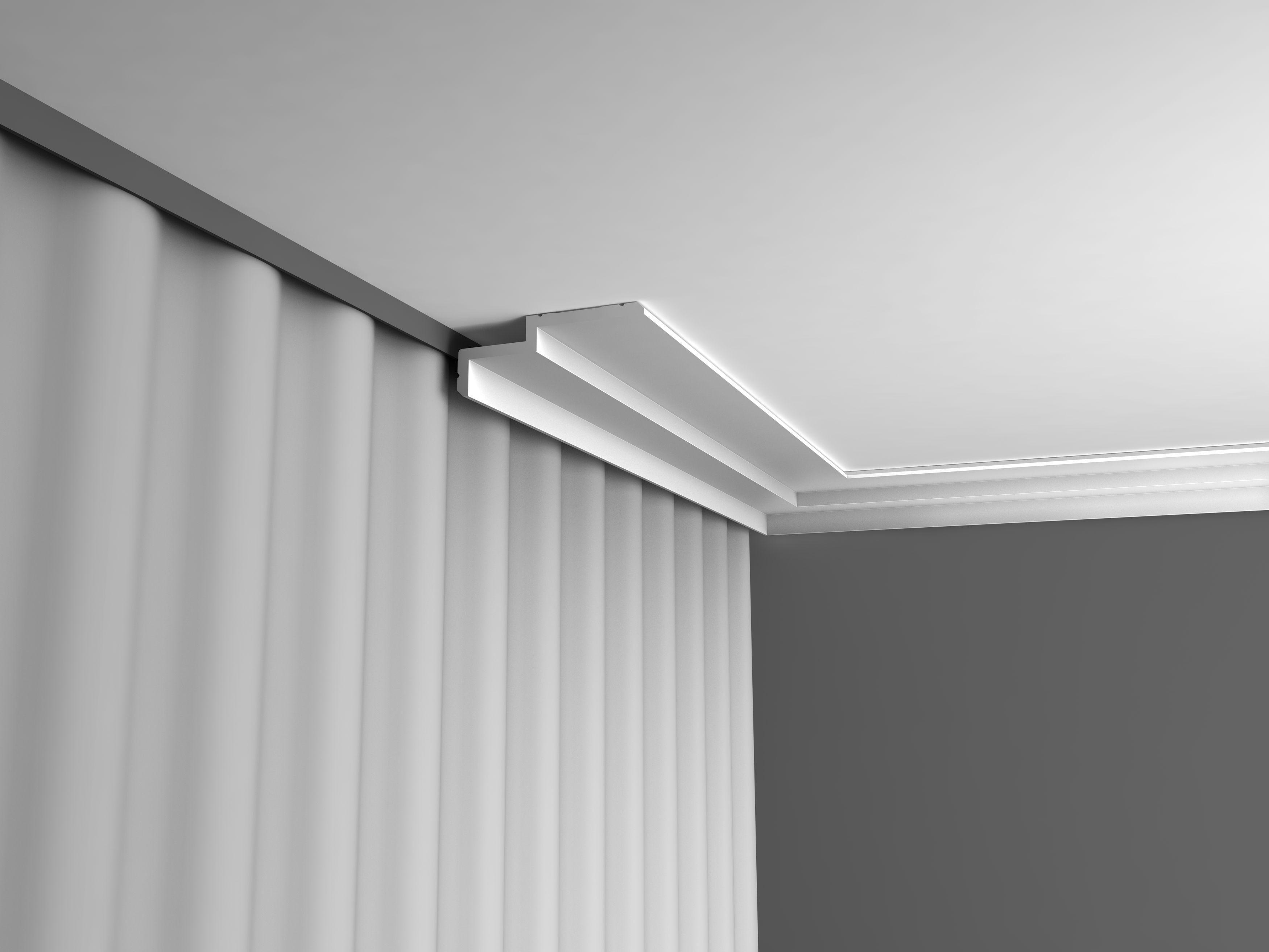 corniche plafond boite rideau c391 luxxus orac decor collection modern collection modern. Black Bedroom Furniture Sets. Home Design Ideas