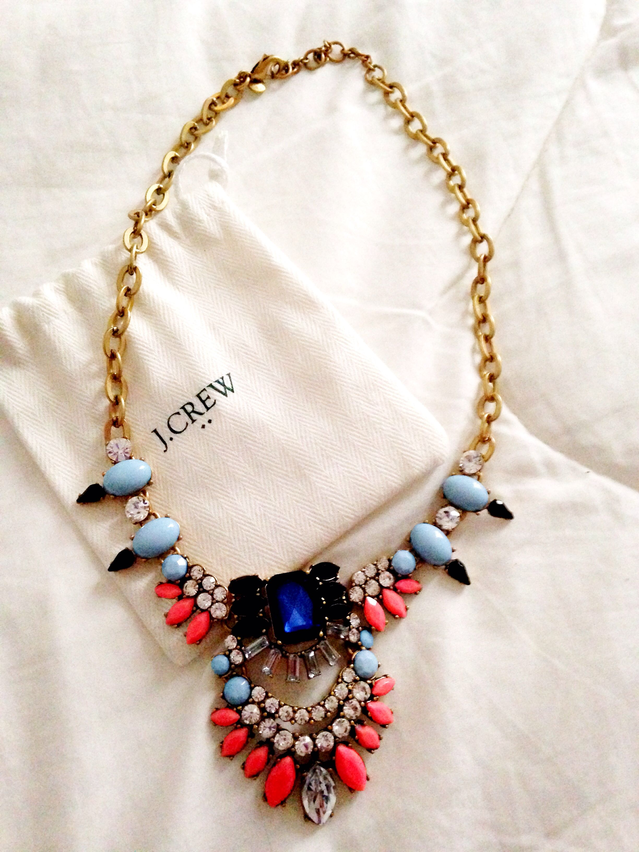 J Crew statement neckless