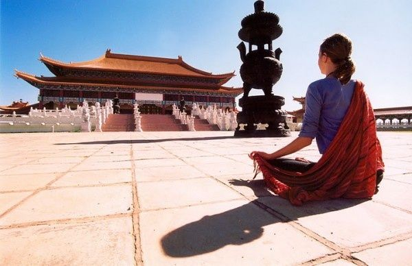 Contemplating Nan Hua Buddhist Temple, South Africa