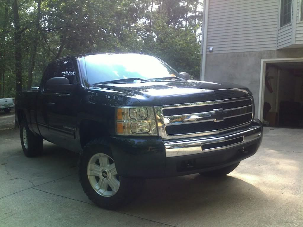 Nnbs Leveling Kits And Tire Sizes Chevy Truck Forum Gmc Truck
