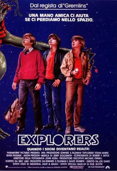 Explorers (1985) | FilmTV.it