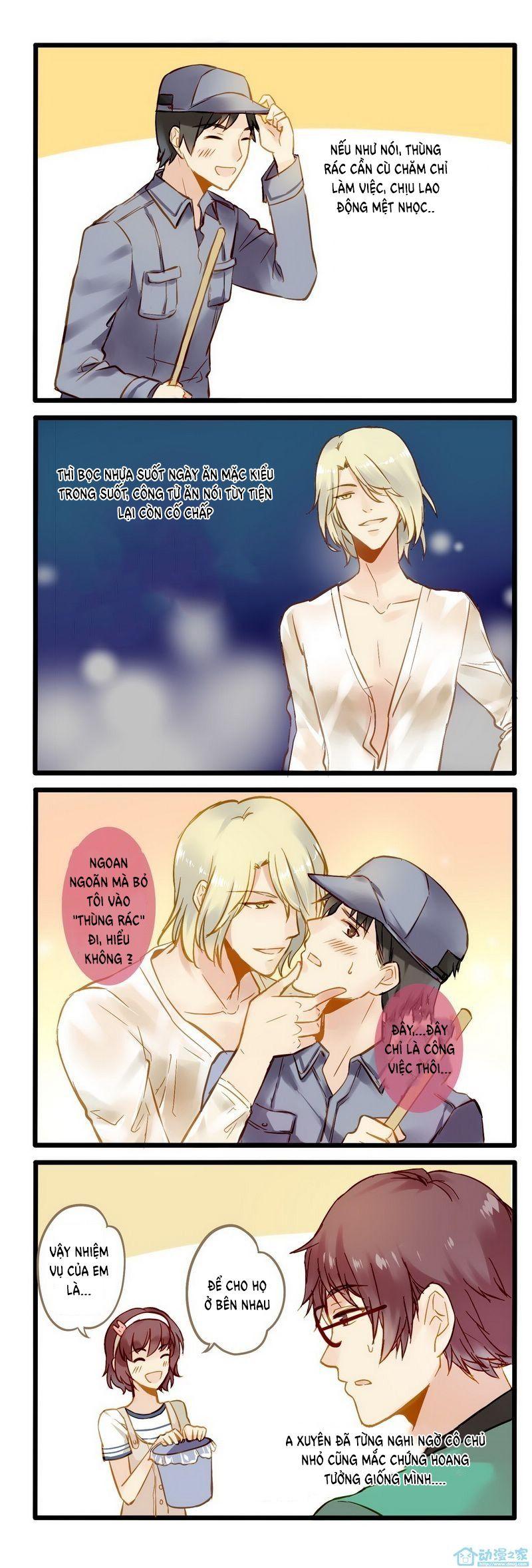 Hằng Mộng Nam Thần Chap 3 Mới nhất TT8 Love story