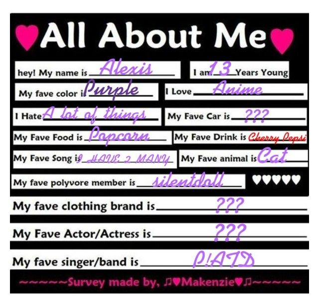 """~All About Me~"" by anime-loverx ❤ liked on Polyvore featuring art"