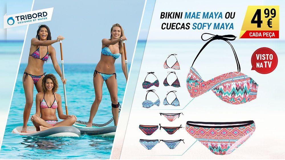 Prepare-se para o verão! Escolha o seu bikini e comece a desfrutar do mar.