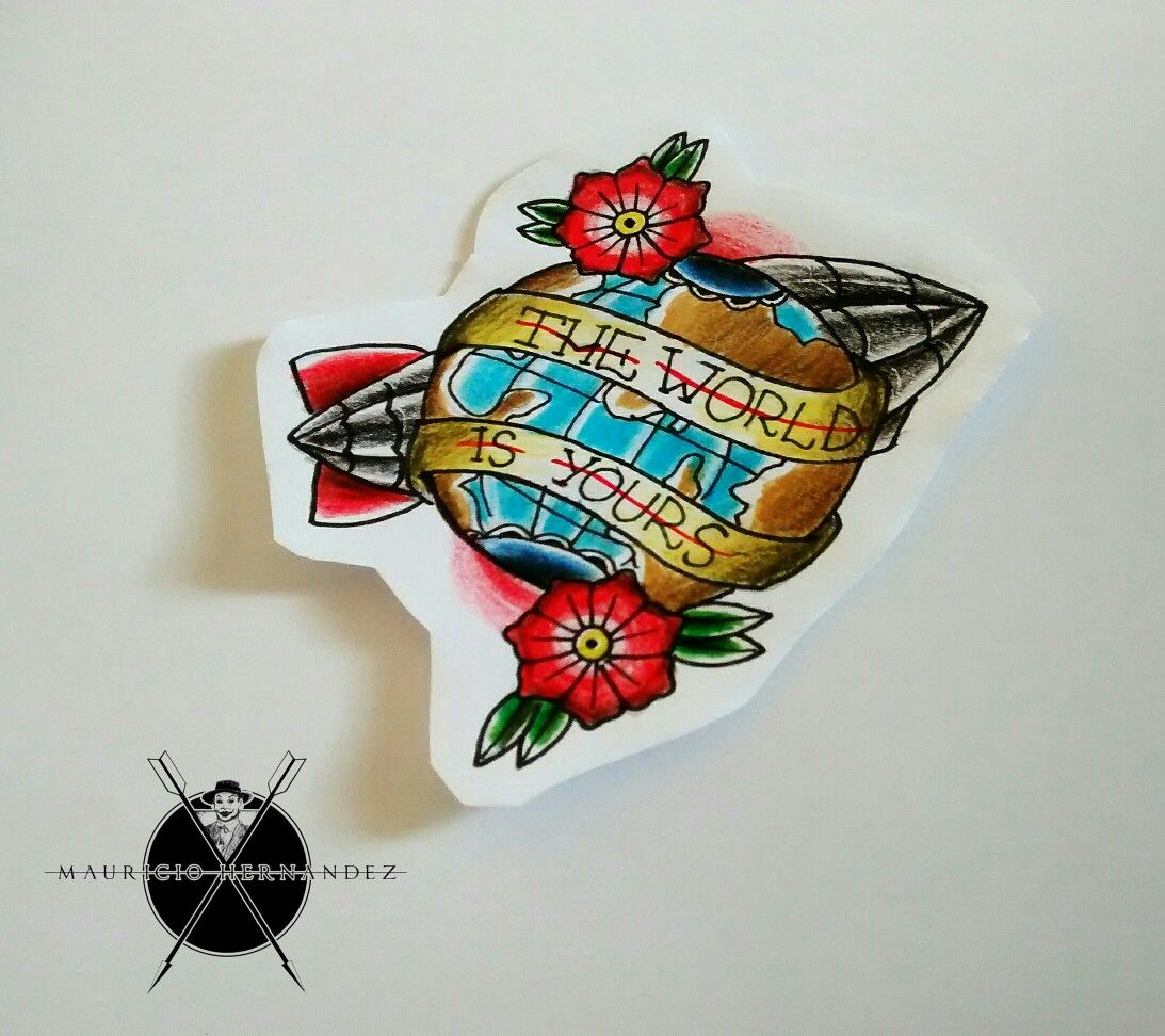 Scarface Tattoo by Mauricio Hernandez
