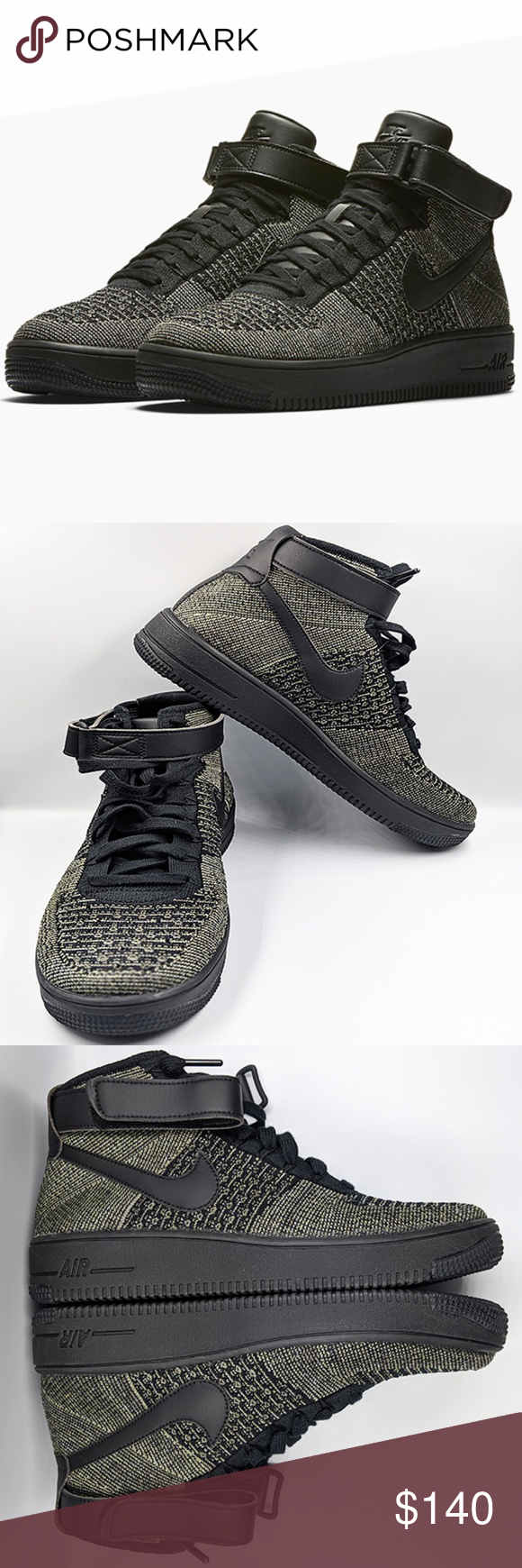 Nike . Air Force 1 Ultra Flyknit Mid The Nike Air Force 1