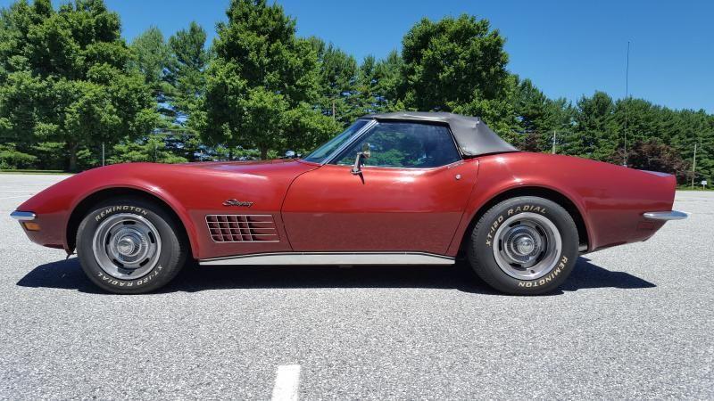 1970 Corvette For Sale >> 1970 Corvette Convertible For Sale Maryland Convertible W