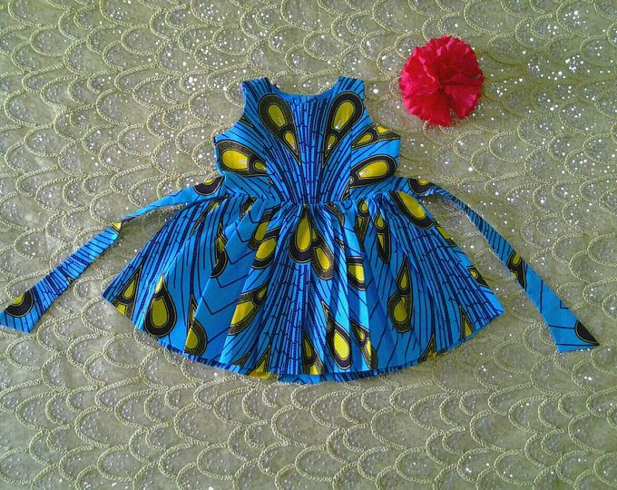 Ankara Dress, African Clothing,African girl dress,