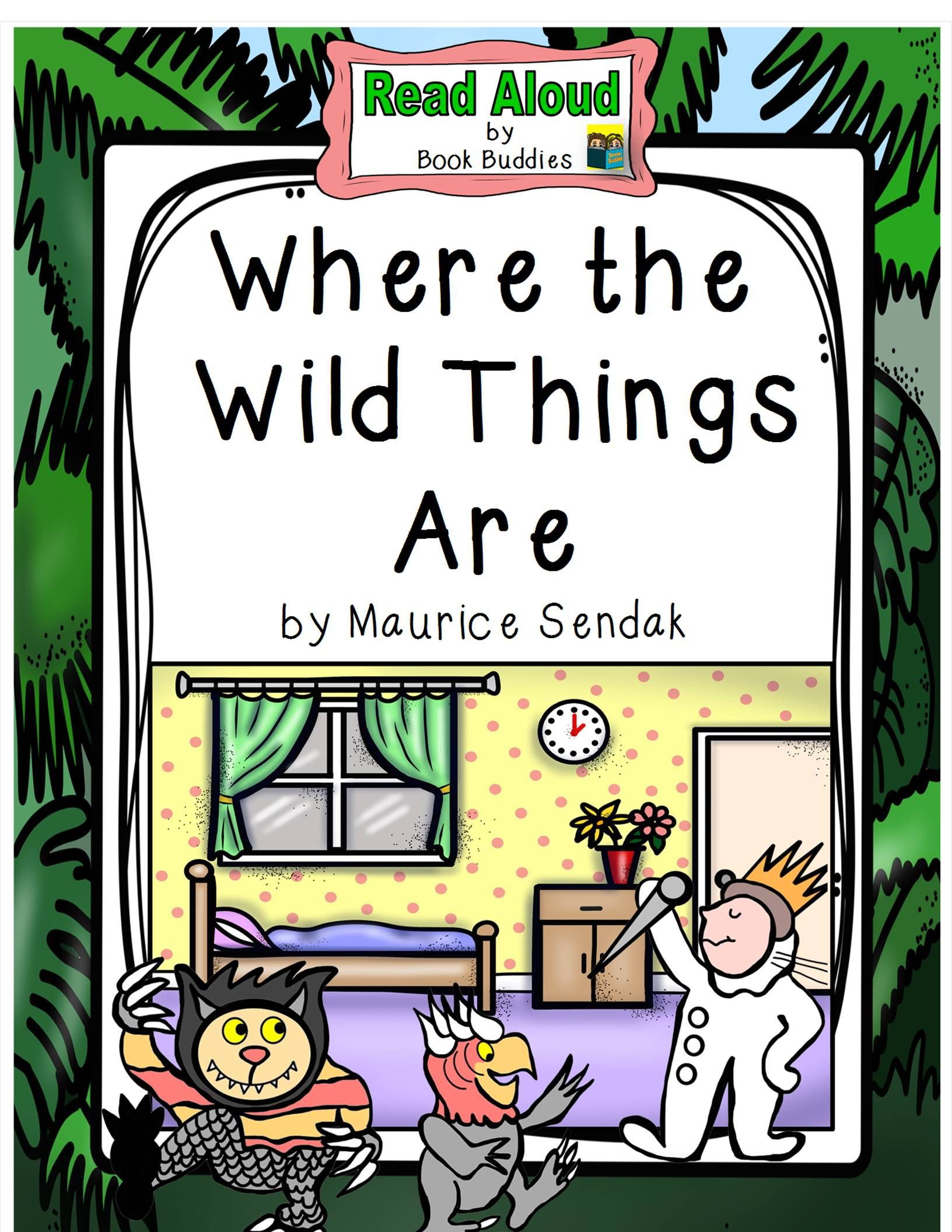 Where the Wild Things Are Reading Activities | Simple ...