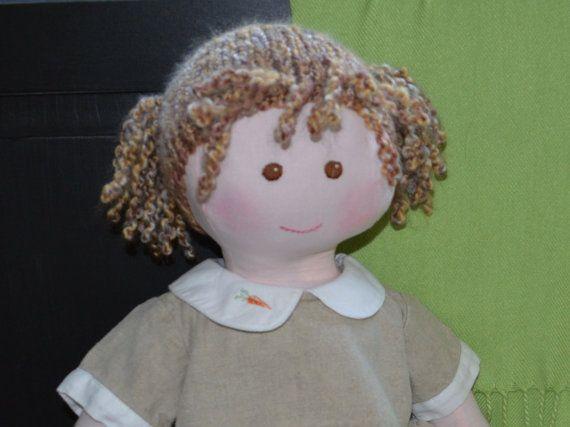 """Newborn Size Handmade Cloth Doll: Beth - 21"""""""