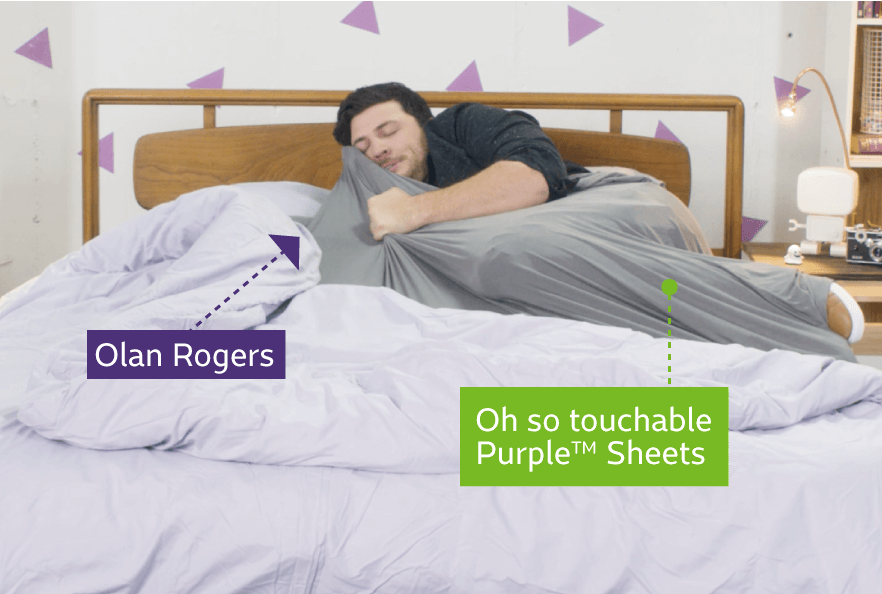 Purple S Ultra Stretchy Sheets Are The Only Bamboo Based Viscose Fabric On Market They Re Breathable Durable And So Touchable