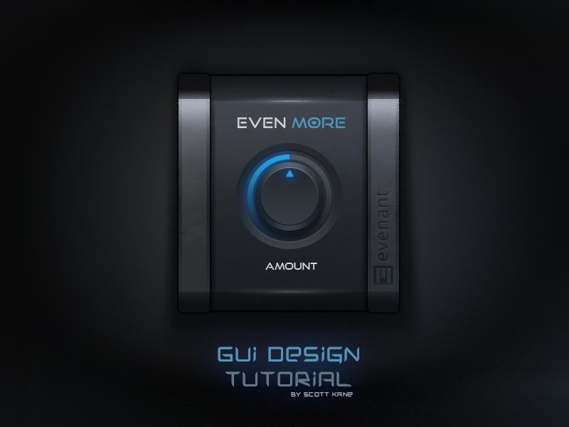 Audio GUI Design / Tutorial