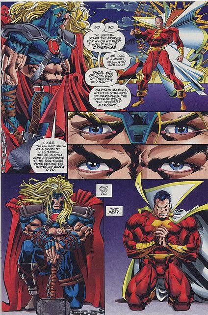 captain marvel thor