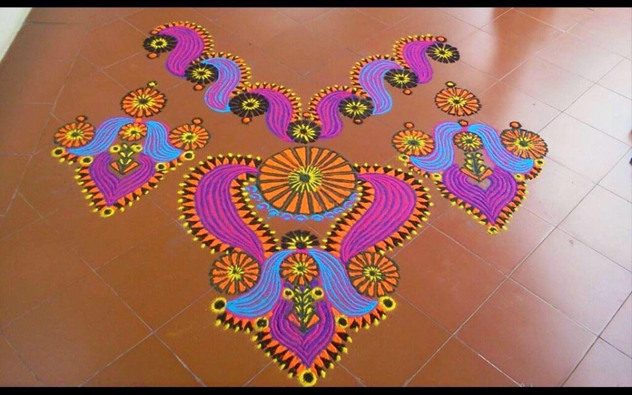 Mash Kolamus Rangoli Rangoli in Pinterest Inspiration