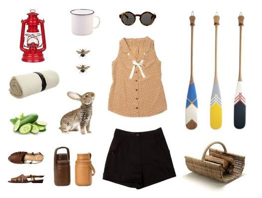 Inspiration of the day | Betina Lou goes camping | Top: http://bit.ly/fridabeige Shorts: http://bit.ly/millieblack pic.twitter.com/K1VXKdvIa8