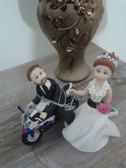 Noivos motoqueiros