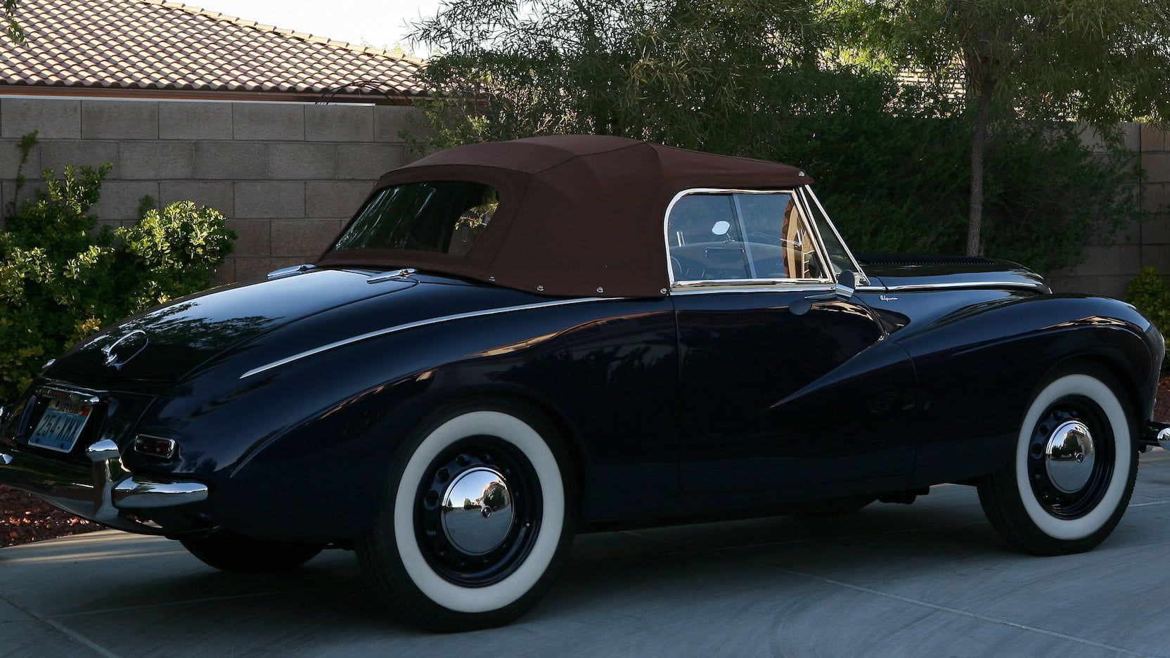 1955 Sunbeam Alpine Mark III Convertible   Classic Sports Cars ...