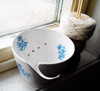 Garnbolle fra Dreieriet Keramikk på Epla.no