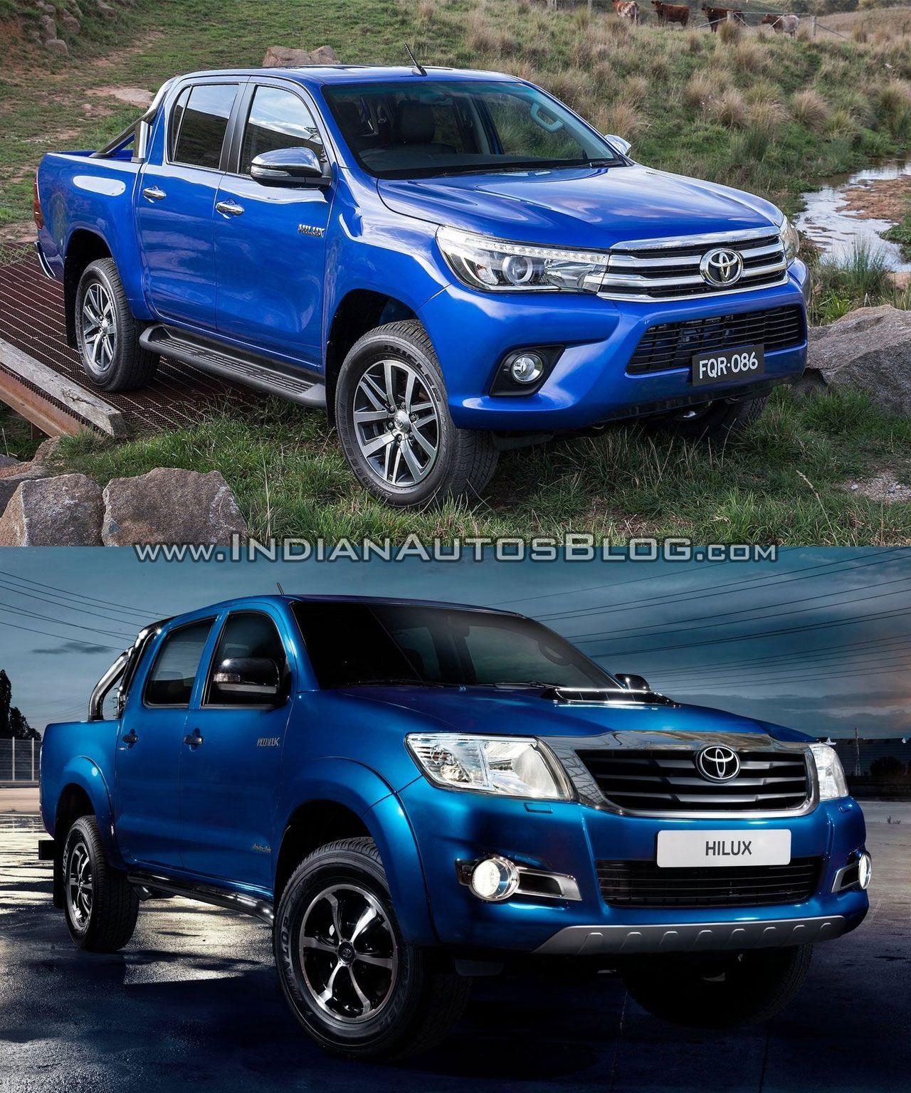 Toyota hilux vigo vs toyota hilux revo old vs new
