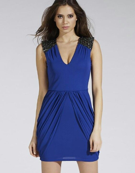 Lipsy London Royal blue cocktail dress