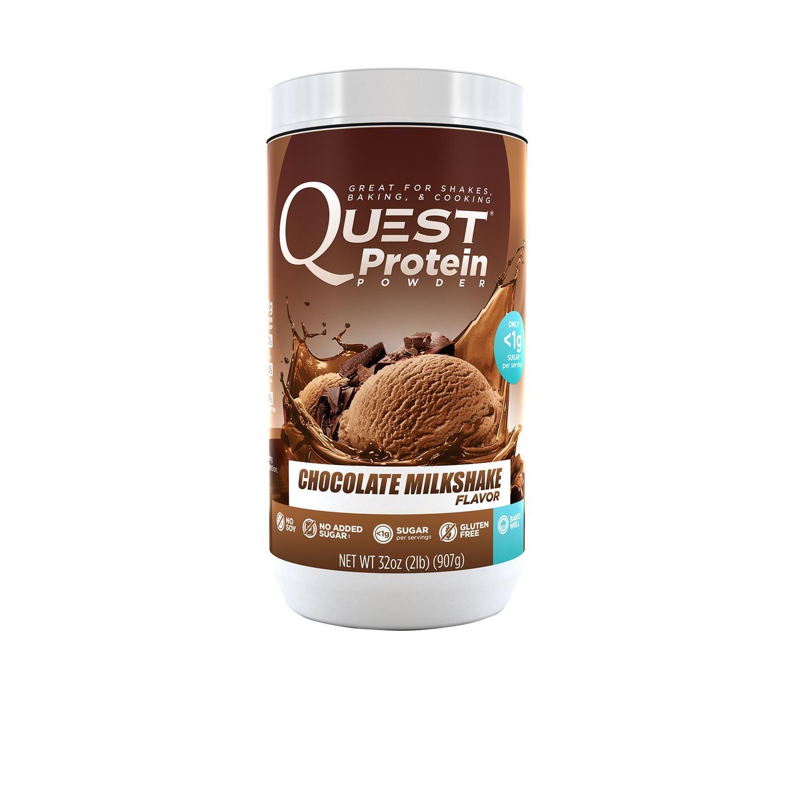 Quest Nutrition, Protein Powder, Chocolate Milkshake, 32