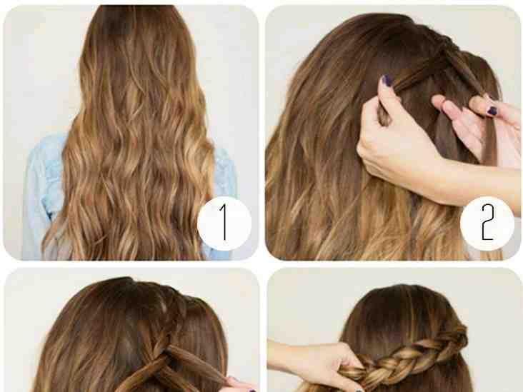 صور تسريحات شعر الصورة ٤ تسريحات Diy Hairstyles Easy To Do Hairstyles Wrap Around Braid