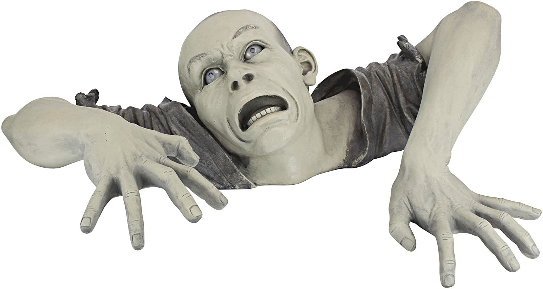 The Zombie Of Montclaire Garden Statues Halloween Outdoor Decorations Halloween Decorations