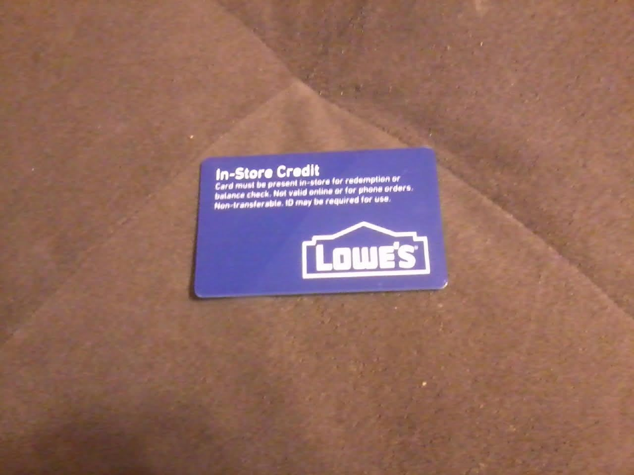 Coupons #GiftCards $500 Lowes gift card ( merchandise credit ...