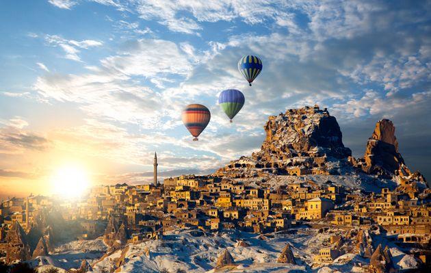 Uchisar Castle - Turkey - Cappadocia
