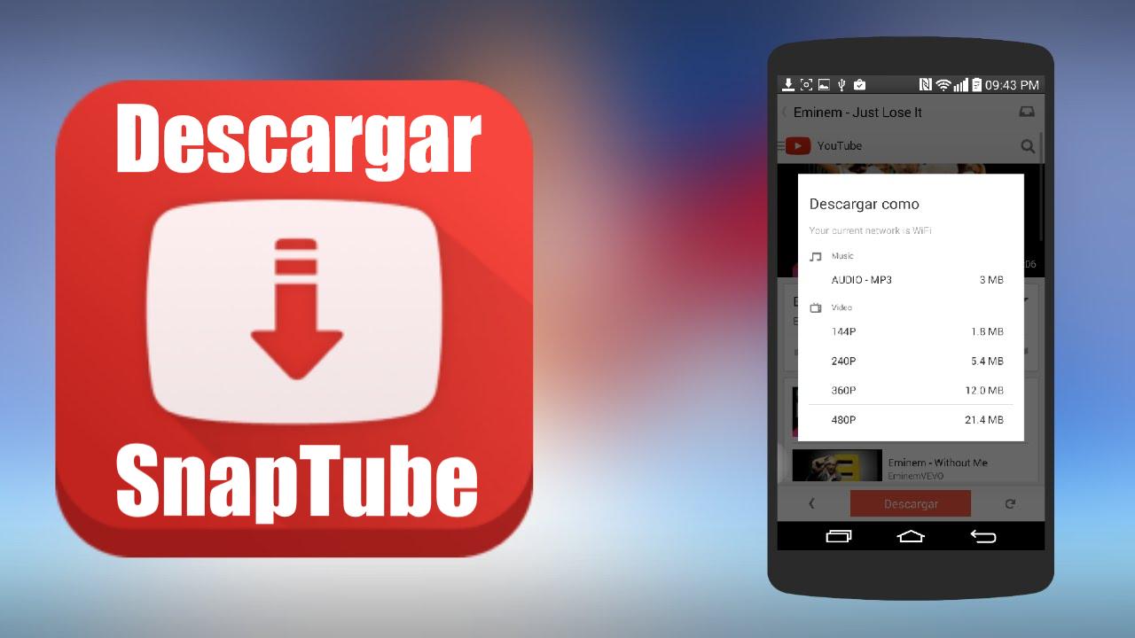 Descarga Snaptube El Mejor Programa Para Bajar Videos De Internet Snaptube Es La Mejor Aplicación Cuya F Descargar Video Videos De Internet Noticias Online