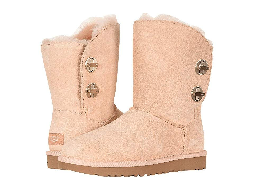 3bc801a738a UGG Classic Short Turnlock Boot Women's Pull-on Boots Amberlight ...