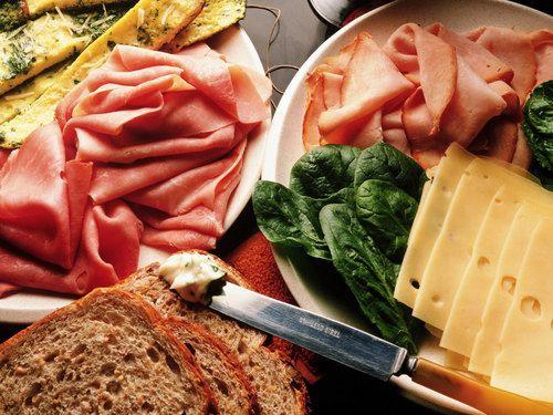 Deli Cold Cuts - italian-food Wallpaper