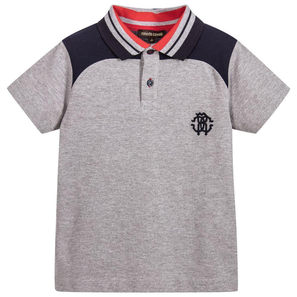 Herren Roberto Cavalli Poloshirt Stripe Jagur for Men