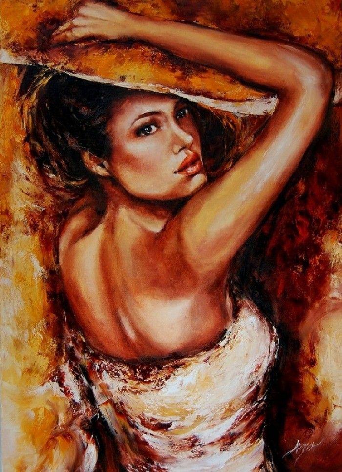 Смотреть картины знаменитых художников рисующих женщин — img 14