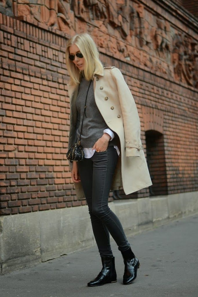 OUTFIT: LEATHER BOOTS