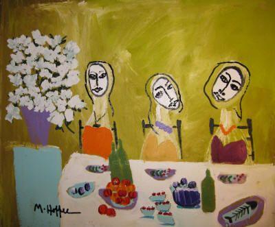 Michael Hoffee USA paintings