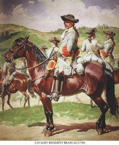 Regiment Brancas 1740