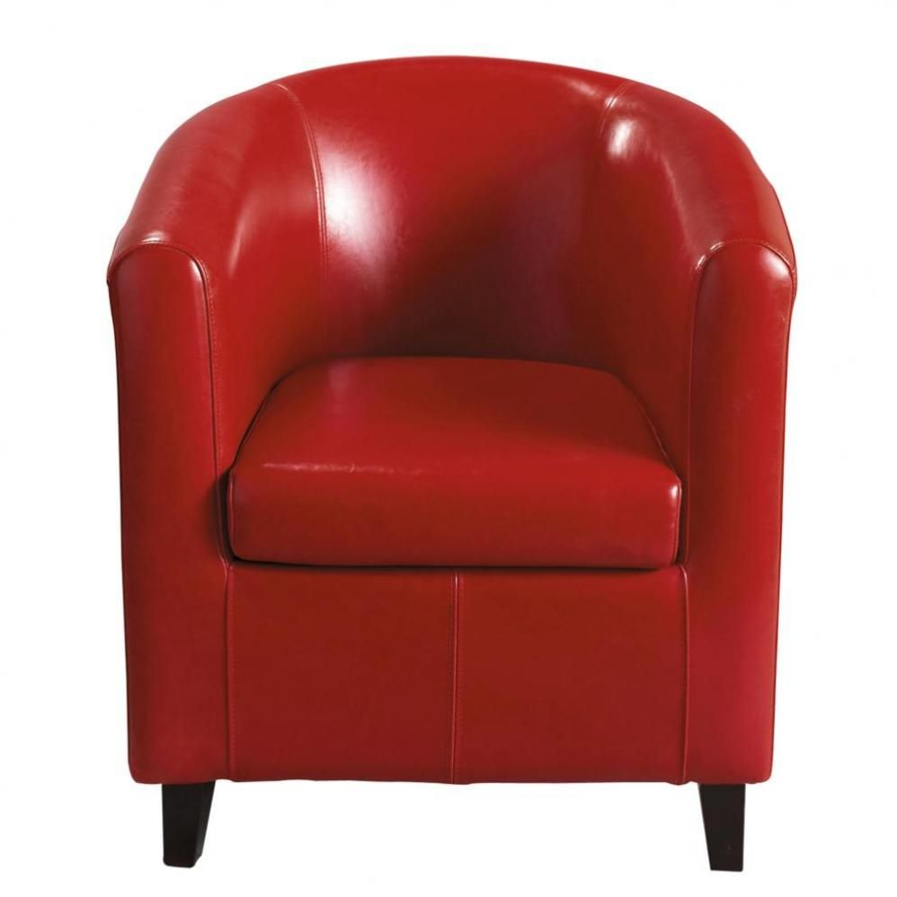 Fauteuil Rouge Design Fauteuil Club Rouge Hus Roujan Chair Armchair Accent Chairs