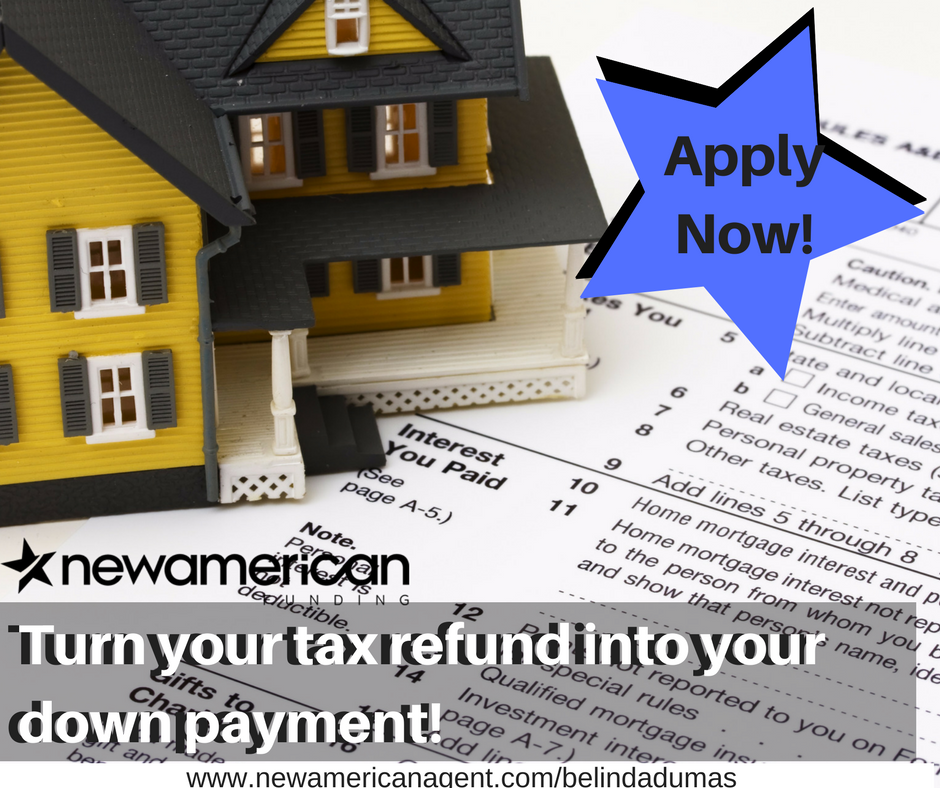 Turn Your Tax Refund Into Your Down Payment Apply Now Home Mortgage Tax Refund Personal Property