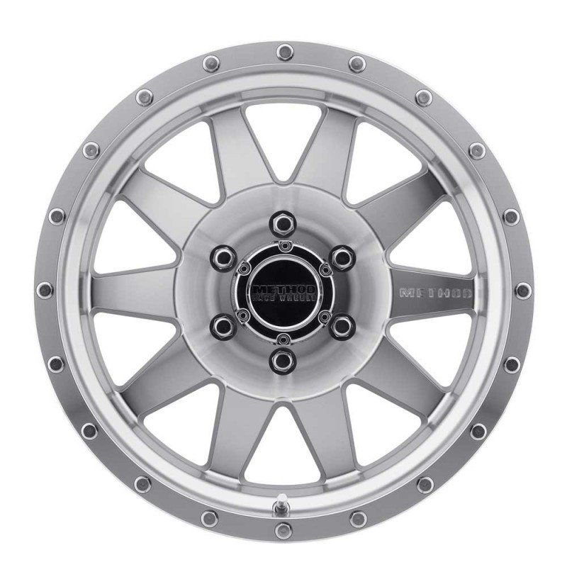 Method Race Wheels Mr301 The Standard 17x9 12mm Offset 8x6 5 131mm Centerbore Machined Clear Coat Method Race Wheels Wheel Clear Coat