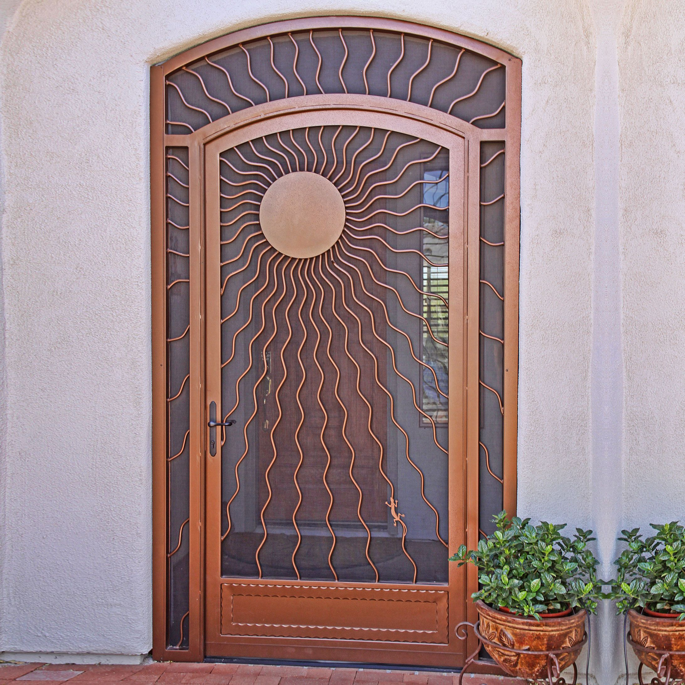 Sunray First Impression Security Doors Security Door Fire Alarm Home Security