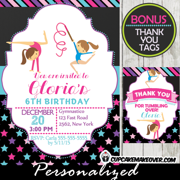 20 PERSONALISED THANK YOU NOTES  CHILDREN/'S PARTY INVITES//INVITATIONS