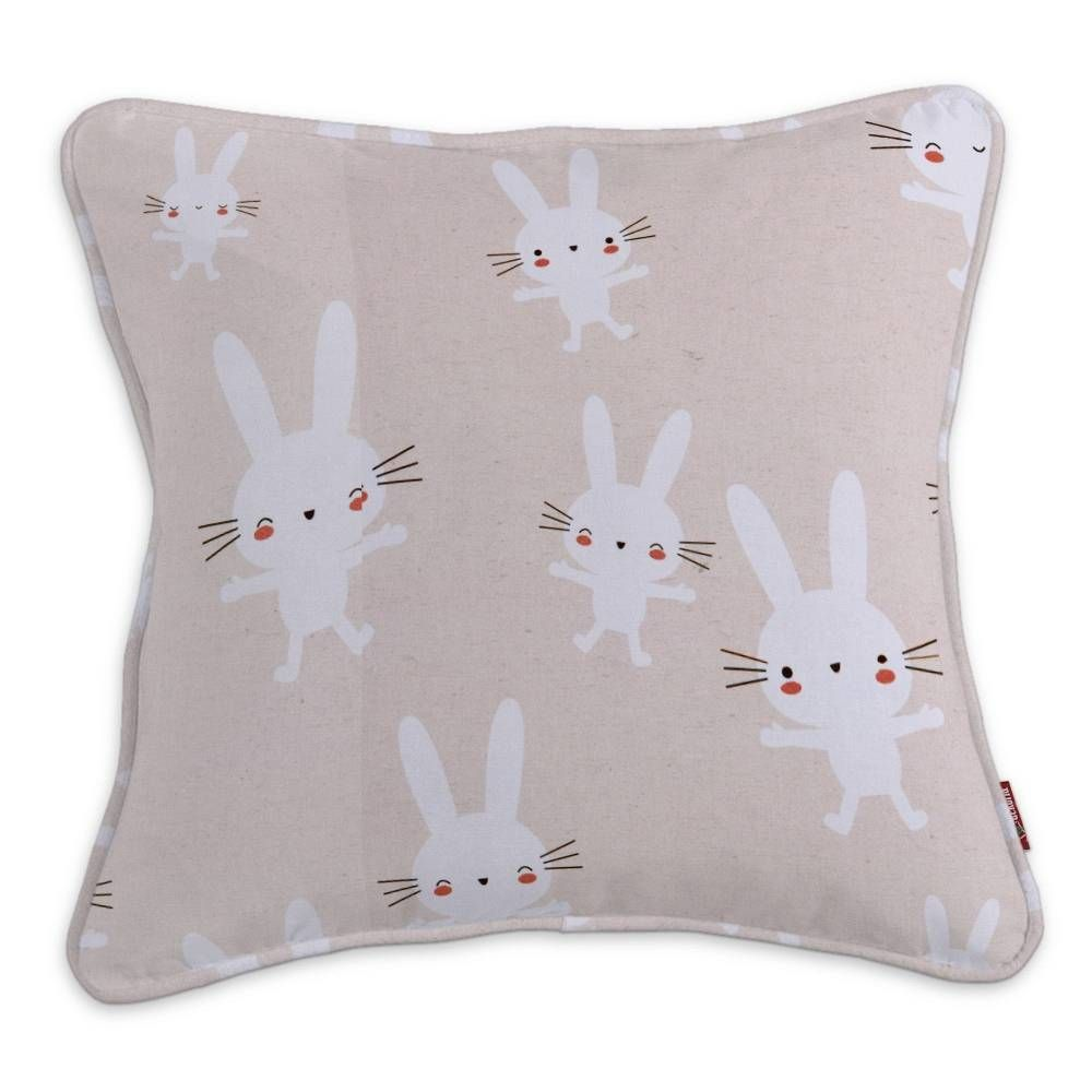 Gabi piped cushion cover fluffy cushions pipes and ranges
