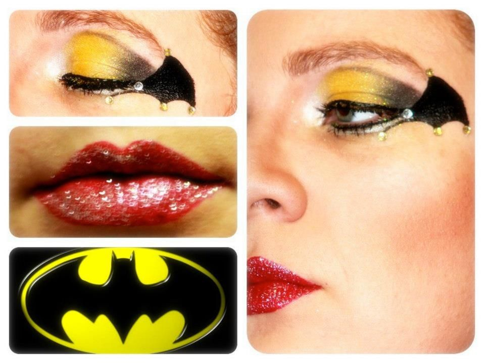 Batwoman Make Up Instagram Amandadfg Glam Skin Pinterest