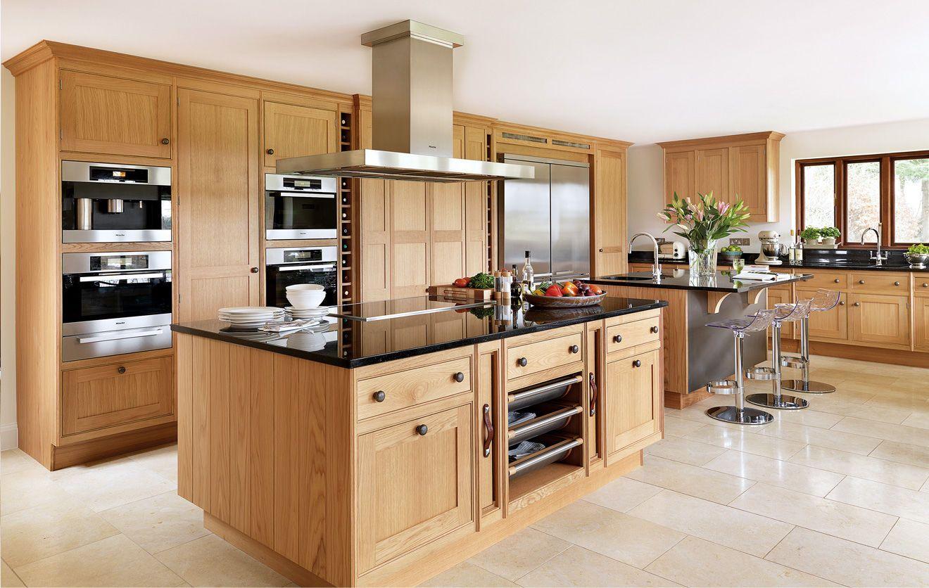 Cocinas modernas con madera buscar con google cocina - Cocina moderna madera ...
