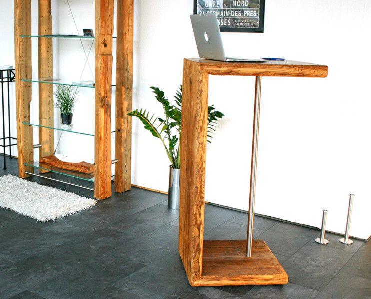 Stehpult designm bel aus antikem holz von woodesign auf for Raumgestaltung 82