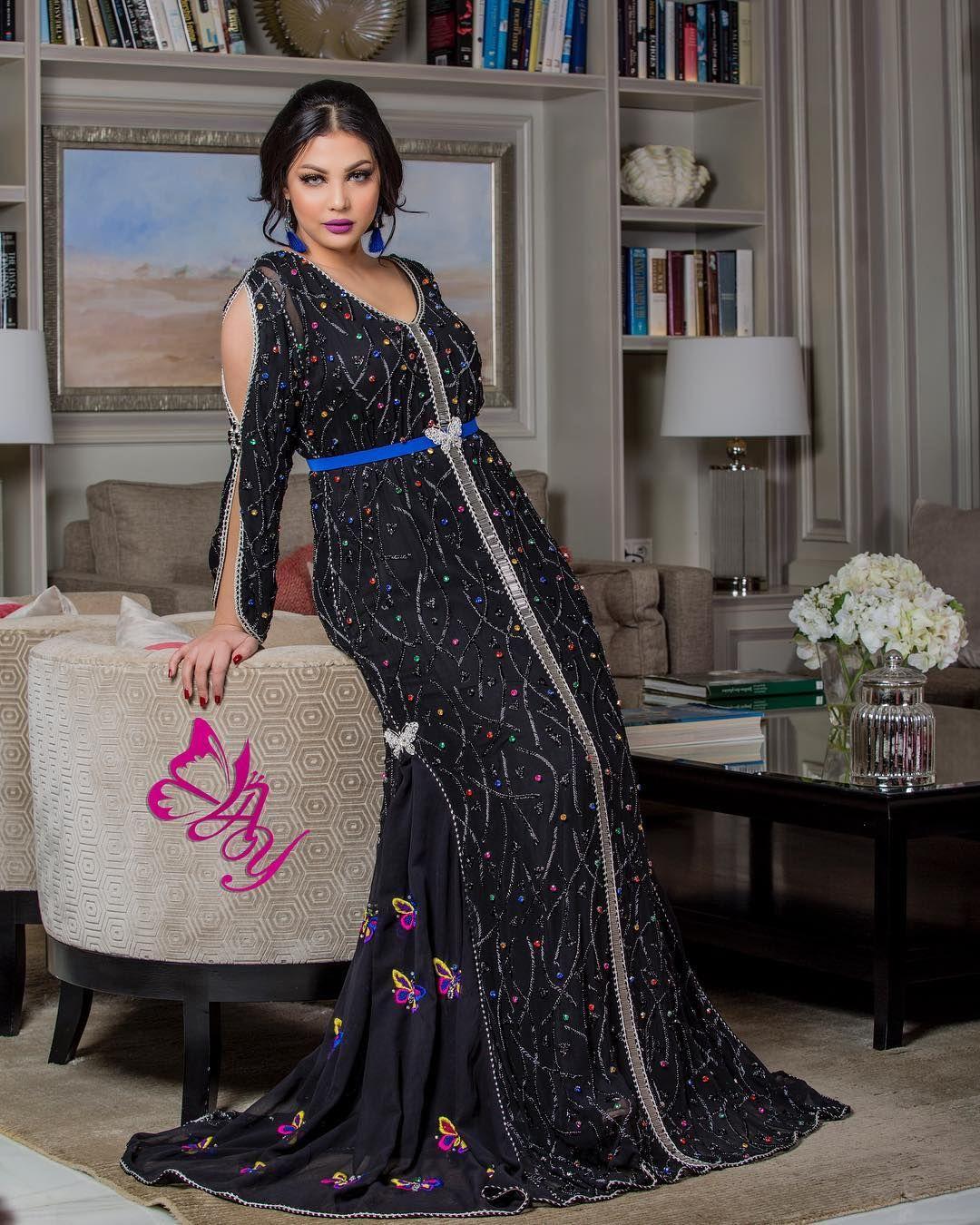 Instagram Post By Styliste Abir El Yassini Feb 2 2018 At 8 01pm Utc Moroccan Fashion Abaya Fashion Fashion