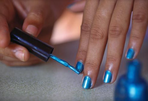 Want sizzling red fingernails? A cool, classic French manicure? WebMD's pictures show manicure tips for fashion, flattering nail shapes, and good health.